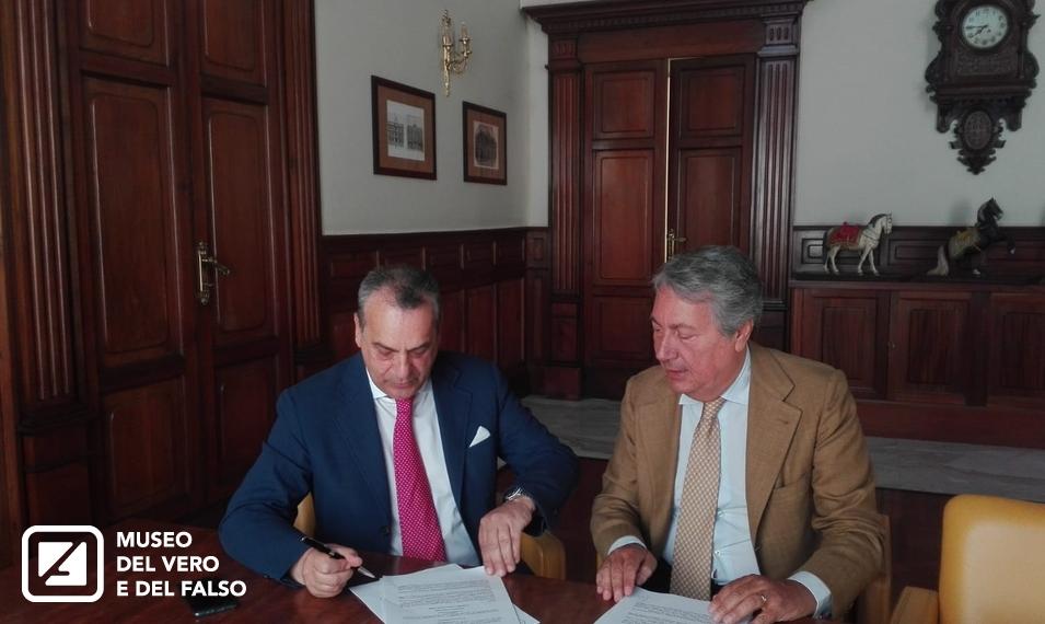Firmato l'accordo tra la Camera di Commercio di Napoli e MVF