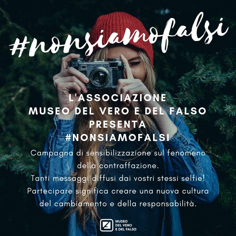 Metterci la faccia con #nonsiamofalsi