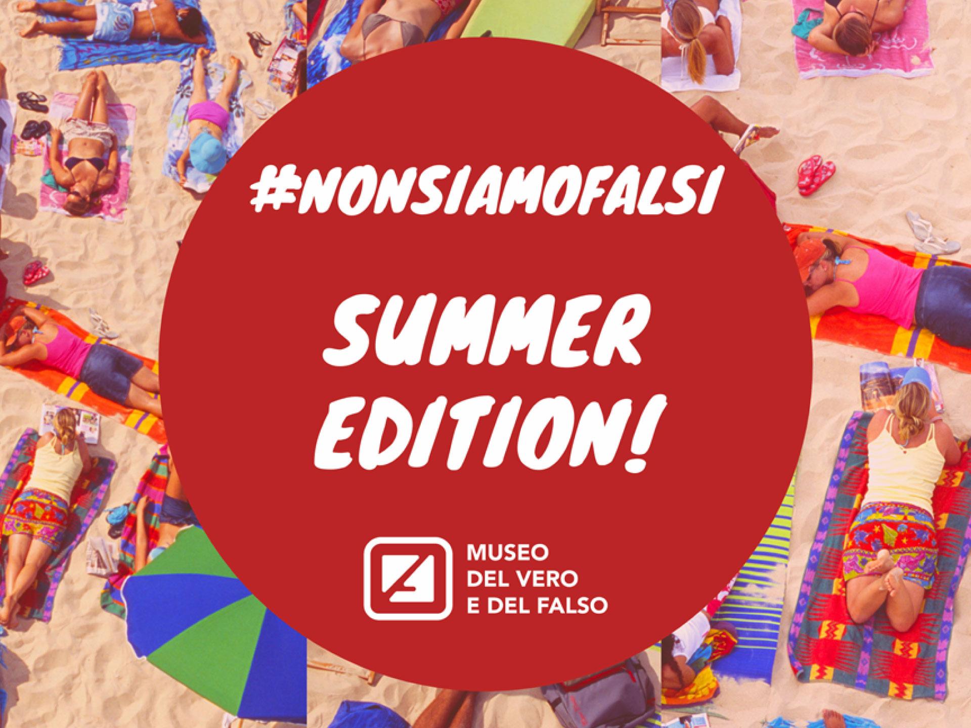 La contraffazione non va in vacanza. Iniziativa #nonsiamofalsi