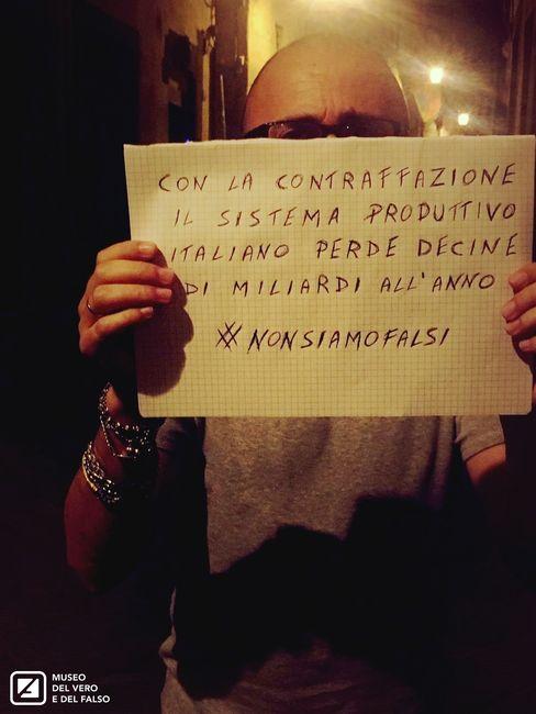 #nonsiamofalsi